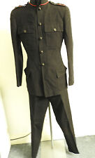 Military WW2 Royal Green Jackets Lieutenants No.1 Dress Tunic Uniform (3663