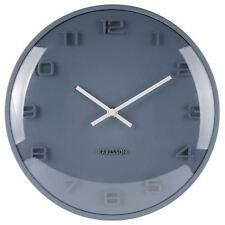 Karlsson Elevated Wall Clock - Petrol Blue