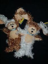 SKANSEN BEANIE KIDS MOJO & JOJO THE JAFFA PUPPIES GLOW IN THE DARK MUTATION SET