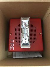*NEW* COOPER WHEELOCK WALL FIRE ALARM SPEAKER STROBE 24VDC E70-24MCW-FR 109023