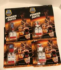 Gobots Power Suits Lot Tonka GB P1 P2 P3 P4 Armor Guardians Nos Transformers