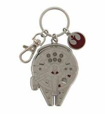 Disney Parks Star Wars Millennium Falcon Keychain With Tags