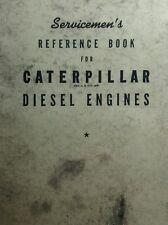 Caterpillar Diesel Engine Tractor Service Manual Crawler CAT Marine 64pg 1941
