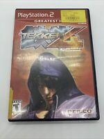 Tekken 4 Greatest Hits | Sony Playstation 2 PS2 | COMPLETE w/ Manual