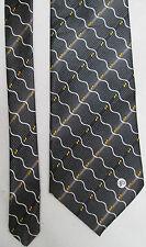 -AUTHENTIQUE cravate cravatte V2 VERSACE   100% soie  neuve  vintage