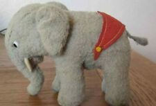 Steiff Elephant - Rare Soft Version - Felt tusks - Overall great Condition