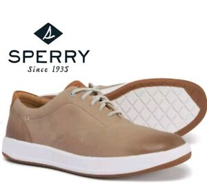 Sperry Gold Cup Richfield CVO Ultralite Dove Tan Leather Shoes Mens 8 US New