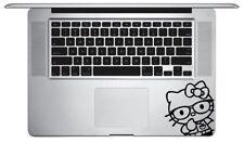 Hello Kitty Nerd keyboard Macbook Pro Laptop Sticker Vinyl Decal