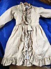 Marybel (Jottum) Golden Dress Coat, 128cm/ 6 - 8 Years, Excellent Condition