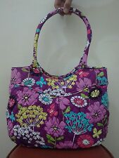 Vera Bradley Pleated Shoulder Bag in FLUTTERBY