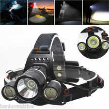CREE XM-L T6 6000LM LED Lampe phare velos Frontale Head rechargeable LD119E