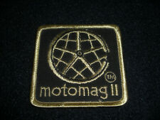 Mongoose Motomag Ii Series Bmx Patch Vintage 1980's Original