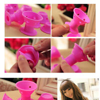Silicone No Clip Hair Curlers Rollers Hair  Accessories Styling Hairdressing-UK