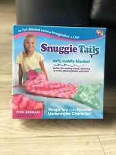 Snuggie Tails Soft Cozy Comfy Pink Mermaid Tail Blanket New Warm Cuddly