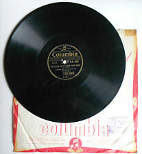 Old 78 record by Johnnie Ray  The little white cloud that cried / Cry