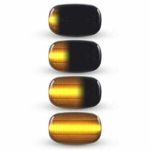 For Toyota Hilux Corolla Camry Prius Sequential LED Side Marker Signal lights 2x