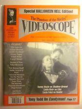 VIDEOSCOPE Magazine #16 Fall 1995 - Linda Blair Halloween Hell Special (New/9.4)