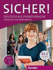 Sicher! B2.2 kursbuch+arbeitscbuch. NUEVO. Envío URGENTE. LIBRO DE TEXTO