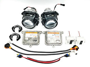 2x OEM 15-20 GMC Yukon Xenon Ballast Projector HID Light Bulb Clip Wire Kit