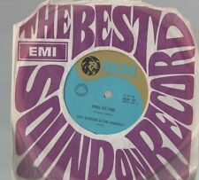 ERIC BURDON & THE ANIMALS vinyl 45 RING OF FIRE/ I AM AN ANIMAL 1968 EX cond