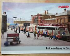 "CATALOGO ""MARKLIN"" Fall new items for 2011 in inglese 23 pagine"