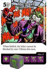 057 THE JOKER Unpredictable -Common- JUSTICE LEAGUE - DC Dice Masters