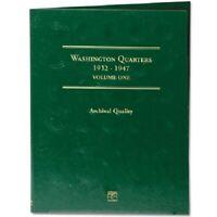 Coin Folder for 1932-1947 Washington Quarters No.1 LCF12 Gift Album by Littleton