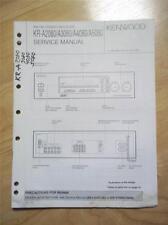 Kenwood Service Manual ~ KR-A2080/A3080/A4080/A5080 Receiver ~ Original Reparatur Buch