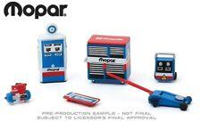 Mopar Series Shop Tool Accessories Workshop Fuel Pump Set 6 Pcs 1:64 Greenlight