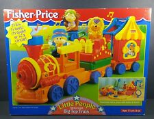 Vintage Fisher Price Little People Motorized Big Top Train SEALED