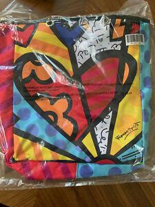 Romero Britto Tote Bag with Detachable strap 331401