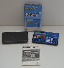 Boxed Vintage Texas Instruments Calculator Galaxy 9X 1991 Scientific Rare Works
