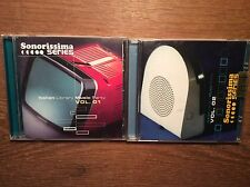 Italian Library Music Party - Sonorissima Series Vol. 1  + 2 [2 CD Alben]