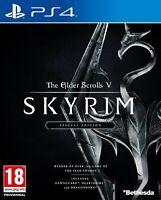 Elder Scrolls V Skyrim Special Edition Sony Playstation 4 PS4 Game