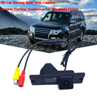 HD Car Backup Rear View Camera Reverse Parking Assistance For Mitsubishi Pajero