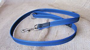 Grippa rein web dog leads, 4ft, 5ft & 6ft various colours.