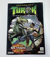 Turok Dinosaur Hunter Official Strategy Guide Book BradyGames
