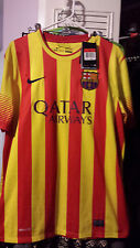 Barcelona Away Soccer Jersey Nike Men Sz L New