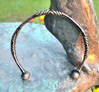 Celtic TORQUES Torc Torq Necklace Forged Iron Steel Iron Age Warrior Jewel Metal