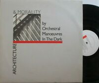 OMD ORCHESTRAL MANOEUVRES IN THE DARK ~ Architecture & Morality ~ VINYL LP