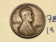 1926 1C BN Lincoln Cent WHEAT PENNY 7831K