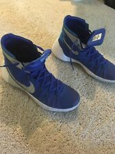 2015 Nike Royal Blue Hyper dunk 2015 Basketball Shoes Men size 13 medium