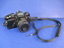 Vintage Konica SLR Camera AutoFlex TC F 1.7 50mm Hexanon Lens Works Great!  VS2B