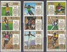 Timbres Sports JO Guinée 470/6 PA105/6 ** non dentelés lot 8470