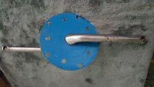 OLD SCHOOL BMX 1981 SUGINO CRANKS 175mm WITH BLUE SUGINO POWER DISC WITH BB