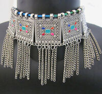 Statement Choker Necklace Fashion Jewelry Tribal Afghan Gypsy Boho Festival Gift