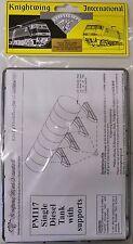 Knightwing PM117 Single Diesel Tank - Plastic Kit. (00)