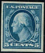 #347  1908 5 CENT IMPERF ISSUE MINT-OG/H--VF/XF