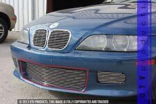 GTG 1996 - 2002 BMW Z3 1PC Polished Overlay Bumper Billet Grille Grill