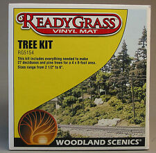 WOODLAND SCENICS PINE TREE KIT o gauge train scenery deciduous  WDS 5154 NEW